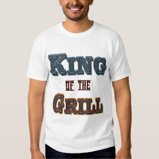 King of the Grill Funny BBQ Cookout Saying T Shirt
