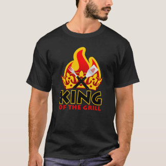 King Of The Grill Funny T-Shirt