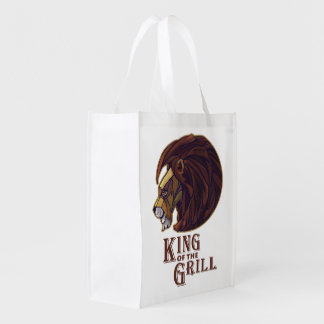 King of the Grill Grocery Bag