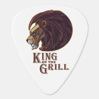 King of the Grill Guitar Pick