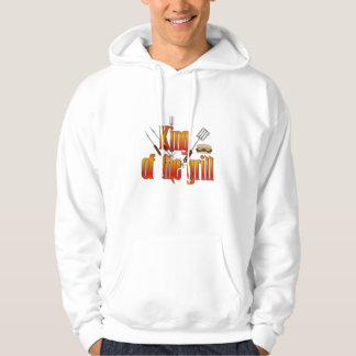King of the Grill Hooded Pullover