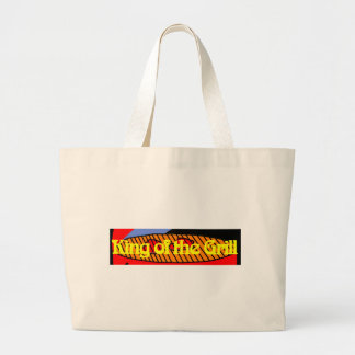 King of the Grill Jumbo Tote Bag