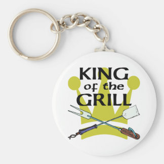 King of the Grill Keychains