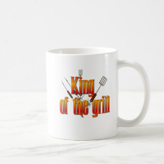 King of the Grill Coffee Mugs