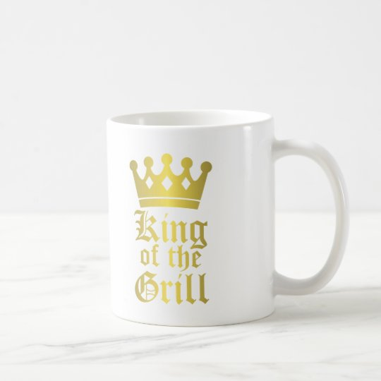 King of the Grill Mug Father's Day BBQ gift