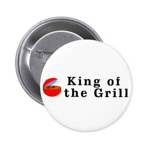 King of the Grill Pins