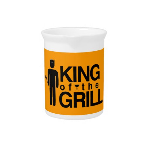 King of the Grill Pitcher