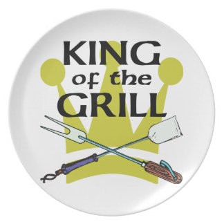 King of the Grill Plates