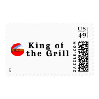 King of the Grill Postage