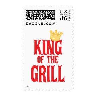 King of the Grill Stamp