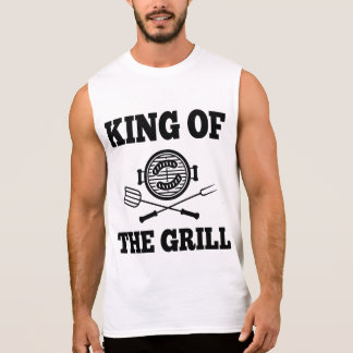 King Of The Grill Sleeveless Shirt