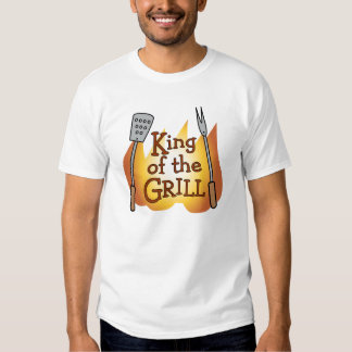 King of the Grill Tee Shirt