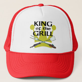 King of the Grill Trucker Hat