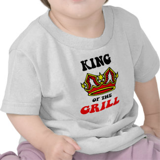 King of the Grill Tee Shirts