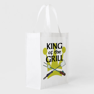 King Of The Grill Grocery Bags