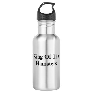King Of The Hamsters Stainless Steel Water Bottle