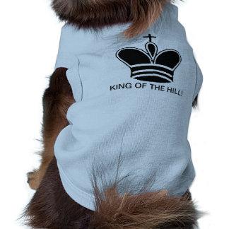 KING OF THE HILL - BLUE RIBBED BLUE CROWN DOG SHIR SHIRT