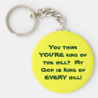 King of the Hill Keychain