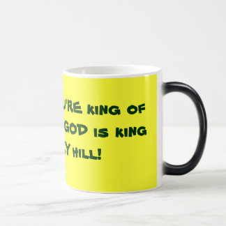 King of the Hill Magic Mug