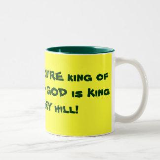 King of the Hill Two-Tone Coffee Mug