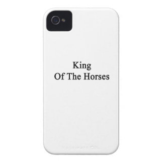 King Of The Horses iPhone 4 Cover