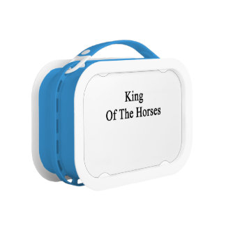 King Of The Horses Lunch Box