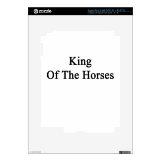 King Of The Horses Skin For iPad 3