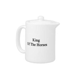 King Of The Horses Teapot