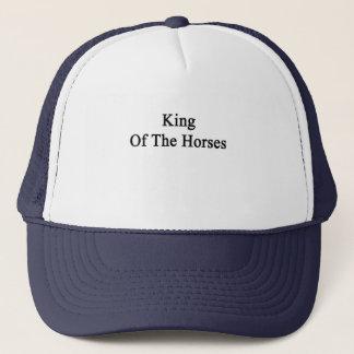 King Of The Horses Trucker Hat