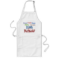 King of the Hotdogs Long Apron