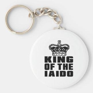 KING OF THE IAIDO BASIC ROUND BUTTON KEYCHAIN