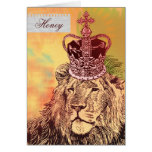 King of the Jungle  |  Anniversary Cards