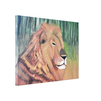 KING OF THE JUNGLE canvas