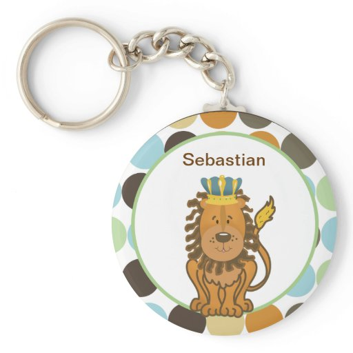 KING OF THE JUNGLE CUSTOMIZABLE KEYCHAIN