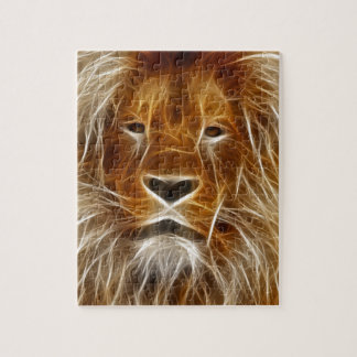 King of the Jungle Electrified Jigsaw Puzzles