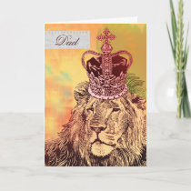 King of the Jungle  |  Father's Day Cards