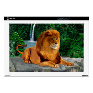 King of the Jungle Laptop Skins
