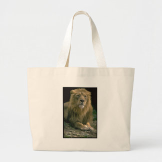 King of the Jungle Lion Image on customizabe items Bag