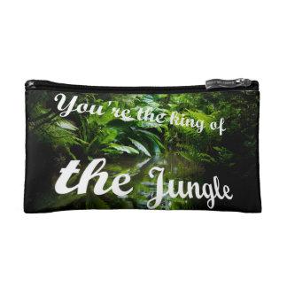 King of the jungle makeup bag