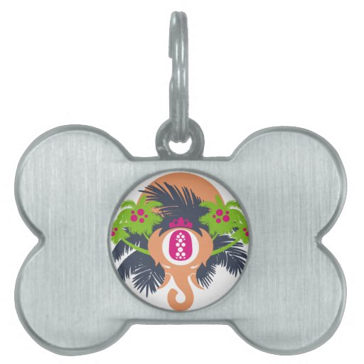 King of the Jungle Pet Name Tag