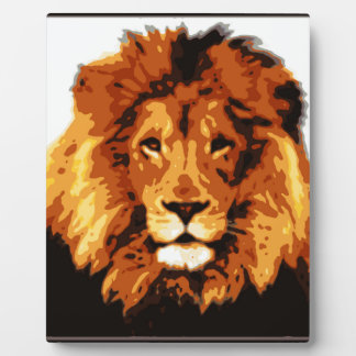 King of the jungle plaque