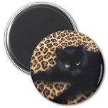 King of the Jungle Refrigerator Magnet