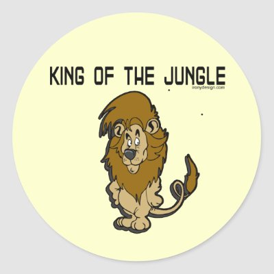 http://rlv.zcache.com/king_of_the_jungle_stickers-p217573552460675866qjcl_400.jpg