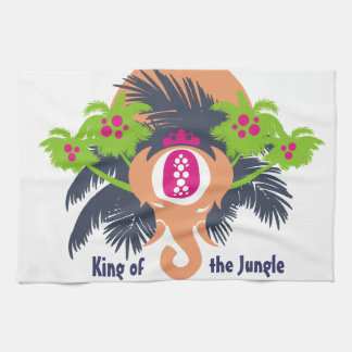 King of the Jungle Towel