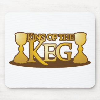 king of the keg mouse pad