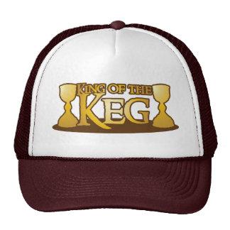 king of the keg trucker hat