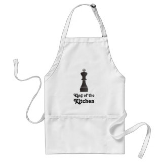 King of the kitchen adult apron