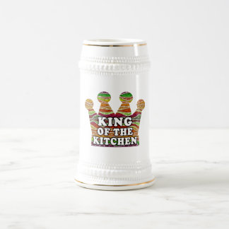 KING OF THE KITCHEN BEER STEIN or MUGS