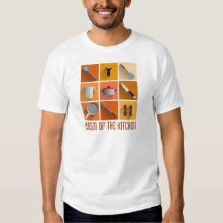 king OF the kitchen cook boss of utilities T Shirt