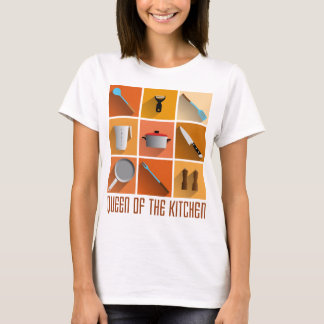 king OF the kitchen cook boss of utilities T-Shirt